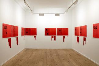 Antonio Dias: Ta Tze Bao, installation view