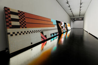 Full Screen, curated by Aram Bartholl, installation view
