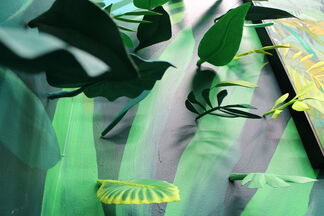 Secrets of Leaves, installation view