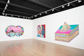 Erik Parker: Undertow, installation view