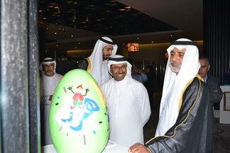 Eggs-xhibition  : Break-An-Egg Campaign, installation view
