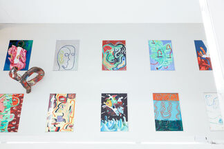 Channel Synthesis, installation view