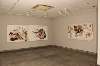 Apologue and Archaeology, by Samit Das, installation view