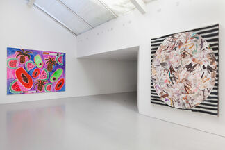 Painting 1, 2, 3, installation view