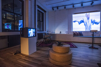 The Current // Permanence, installation view