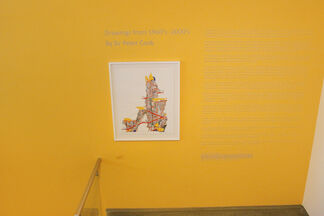 Sir Peter Cook: Drawings from the 1960's - 2000's, installation view
