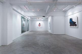 Doublethink: Kata Legrady and Wang Luyan, installation view