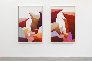 Nicolas Party: Two Naked Women, installation view