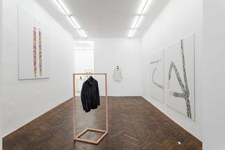 Ups and Downs of a Flipped Planet: Iván Argote. Eliza Douglas. Jojo Gronostay., installation view