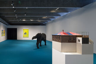 Andro Wekua. Dolphin in the Fountain, installation view