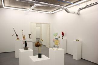 Alex J Wood LIFT OFF, installation view