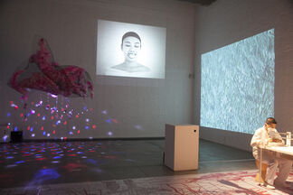 Cutting Edge: New Art From The Sichuan Fine Arts Institute, New Media Department, installation view