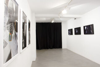 A moon without a people, installation view
