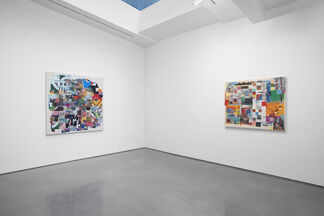 Franklin Evans, paintingpainting, installation view
