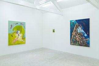 A Splinter in the Sun: Paul Housley, Xiao-yang Li, Kate Lyddon, installation view