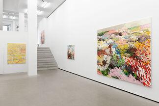 Uwe Kowski: treiben, installation view