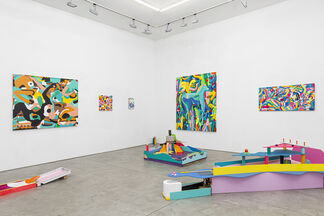 Still Now Is Here: Woolgather Together, installation view