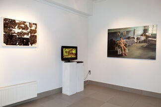 New artists… on crisis, installation view