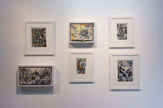 Surfaces + Structures paintings by Ashlynn Browning & Eric Mack, installation view