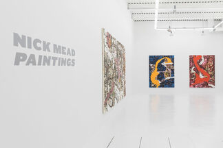 Nick Mead Paintings, installation view
