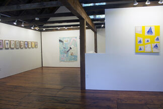 Martin Mannig - Between the Worlds, installation view