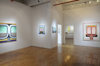 Clint Jukkala - Off Course and Alexis Granwell - Ghost Stories, installation view