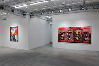 After Hours, installation view
