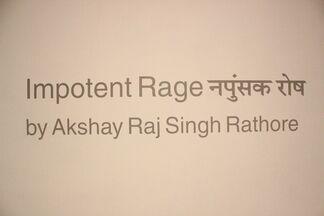 Impotent Rage - recent works by Akshay Raj Singh Rathore, installation view