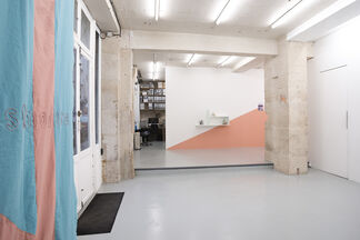 Isa Melsheimer, 'Times Are Hard But Postmodern', installation view