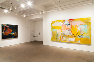 Living Large: Big Paintings from the Allan Stone Collection, installation view