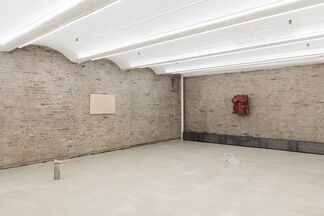 While Removing the Garbage or Paying the Cleaner, installation view