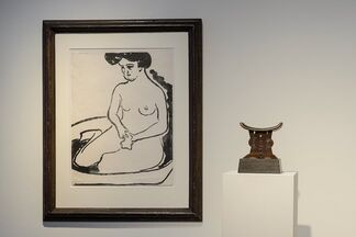 African Art from our Collection & Ernst Ludwig Kirchner, installation view