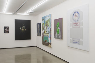 100 Painters of Tomorrow - London, installation view