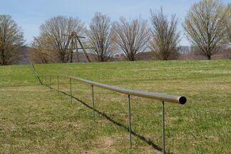 Outlooks: Virginia Overton, installation view