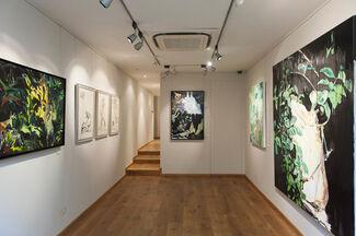 Dean Melbourne's 'Garland', installation view