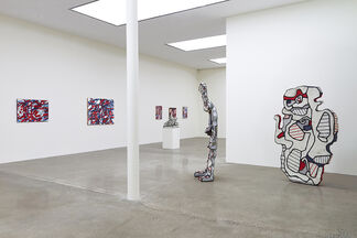 Dubuffet: late paintings, installation view