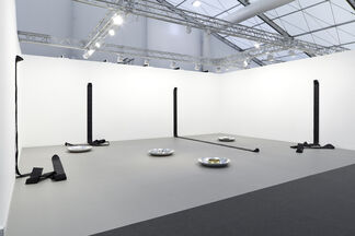 Simon Lee Gallery at Frieze London 2015, installation view