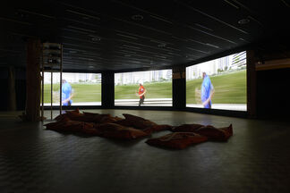 The Theory of Freedom by Bjørn Melhus at Kunsthal Rotterdam, installation view