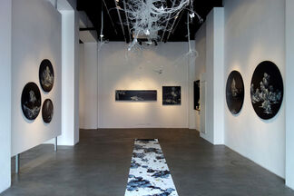 Of Woods and Wonderlands: Dual Exhibition by Pang Yun and Li Yuming, installation view