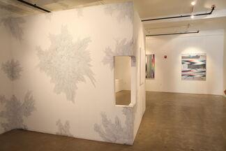 Andrea Bianconi - Alberto Di Fabio - Felipe Pantone: Interstellaris, installation view