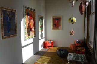 GUSFORD   los angeles at Paris Photo Los Angeles 2015, installation view