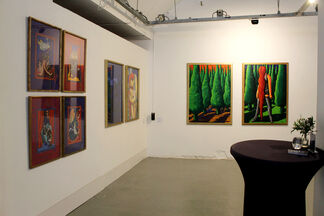 Watching the time go by, installation view