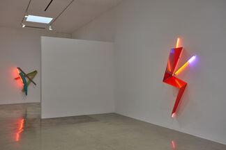 Mark Handforth: Zig, Zag & Flag, installation view