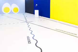 FOUR EGGS THEORY, installation view