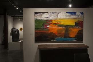 Gander - group exhibition with Alayne Spafford, Matt Petley-Jones and Ulrich Panzer, installation view