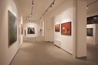 CAOS & BELLEZZA   Mario Branca, Matthias Brandes, Arcangelo Ciaurro, installation view