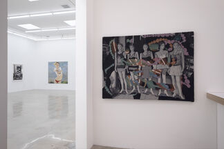 Olimpia's Eyes: Curated by Jessica Hodin and Ben Charles Weiner, installation view