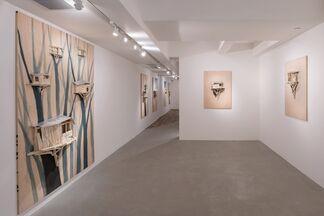 Nest and Tree Hut | Solo Exhibition of Tadashi Kawamata, installation view