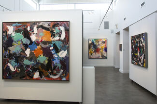 Scott Pattinson, New Paintings from the Ouvert Series, installation view