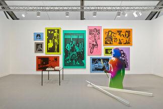 Stuart Shave Modern Art at Frieze London 2014, installation view